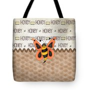 Sammy The Honey Bee Tote Bag