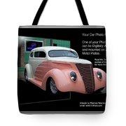 Sample Car Artwork Readme Tote Bag