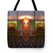 Sample Paneled Hallway Mirrored Image Tote Bag