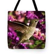 Sampling The Flowers Tote Bag