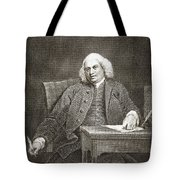 Samuel Johnson, English Author Tote Bag