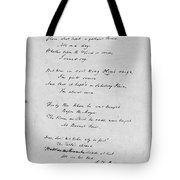 Samuel Taylor Coleridge (1772-1834) Tote Bag