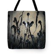Samurai In The Weeds Tote Bag