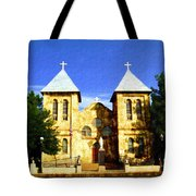 San Albino Church Tote Bag
