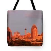 San Antonio - Skyline At Last Light Tote Bag