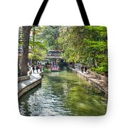 San Antonio River Walk In Spring Tote Bag