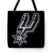 San Antonio Spurs Tote Bag by Tony Rubino