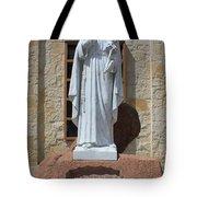 San Antonio Statue Tote Bag