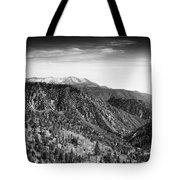 San Bernardino Snow Tote Bag