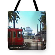 San Diego Transportation Tote Bag