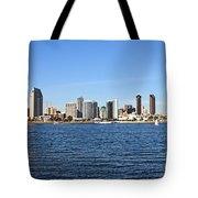 San Diego Ca Harbor Skyline Tote Bag