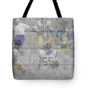 San Diego Chargers Legends Tote Bag