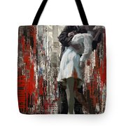 San Diego City Collage Tote Bag