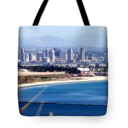 San Diego From Point Loma By Diana Sainz Tote Bag
