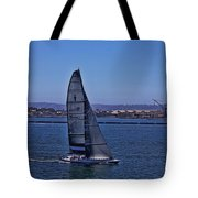 San Diego Harbor Sailing Tote Bag