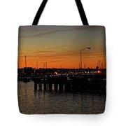 San Diego Harbor Sunset Tote Bag
