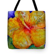 San Diego Hibiscus Study IIi Upward Facing  Tote Bag
