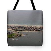 San Diego Mission Bay 3 Aerial Tote Bag