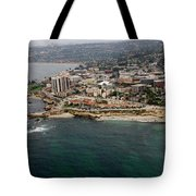 San Diego Shoreline From Above Tote Bag