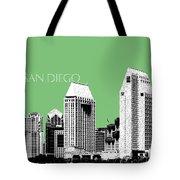 San Diego Skyline 2 - Apple Tote Bag