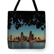 San Diego Sunrise Tote Bag