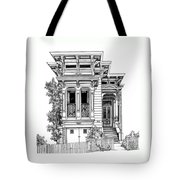 San Fracisco Victorian2 Tote Bag