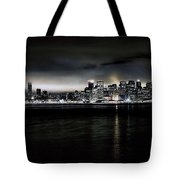 Across The Bay Version A Tote Bag