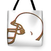San Francisco 49ers Helmet Tote Bag