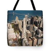 San Francisco Aloft Tote Bag