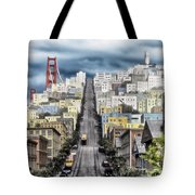 San Francisco Backlot Walt Disney World Tote Bag