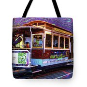 San Francisco Cable Car No. 17 Tote Bag