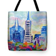 San Francisco Colors Tote Bag