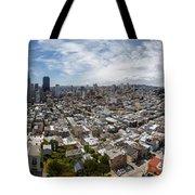 San Francisco Daytime Panoramic Tote Bag