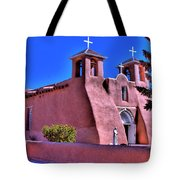 San Francisco De Asis Mission Church Tote Bag