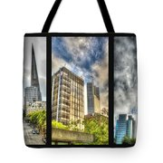 San Francisco Embarcadero Panel Tote Bag