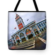 San Francisco Ferry Building Giants Decorations. Tote Bag