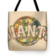 San Francisco Giants Poster Art Tote Bag