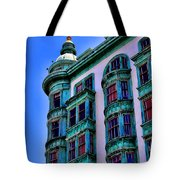 San Francisco Glow By Diana Sainz Tote Bag