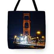 San Francisco - Golden Gate Bridge From North Vista Point Tote Bag