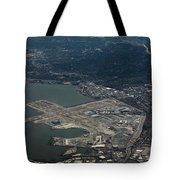 San Francisco International Airport Tote Bag
