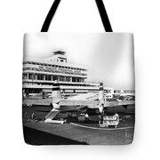 San Francisco International Airport Passenger Terminal Circa 195 Tote Bag