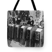 San Francisco Kinetoscope Tote Bag