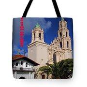 San Francisco Missio Dolores Tote Bag