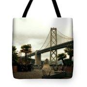 San Francisco Oakland Bay Bridge Tote Bag