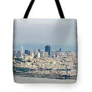 San Francisco Panorama Tote Bag