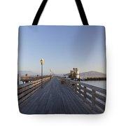 San Francisco Pier Tote Bag