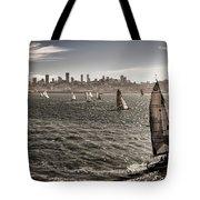 San Francisco Sails Tote Bag