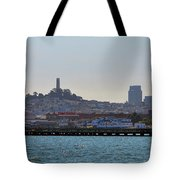 San Francisco Skyline -2 Tote Bag