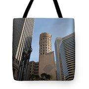 San Francisco Skysrappers Tote Bag