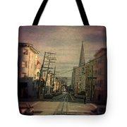 San Francisco Street Tote Bag